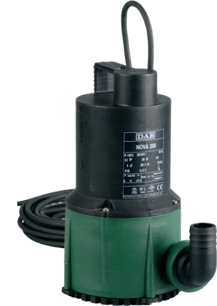 DAB Nova 180 M-NA Manual Submersible Pump